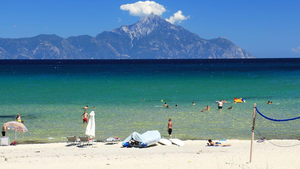 Plaja in Sarti - Grecia
