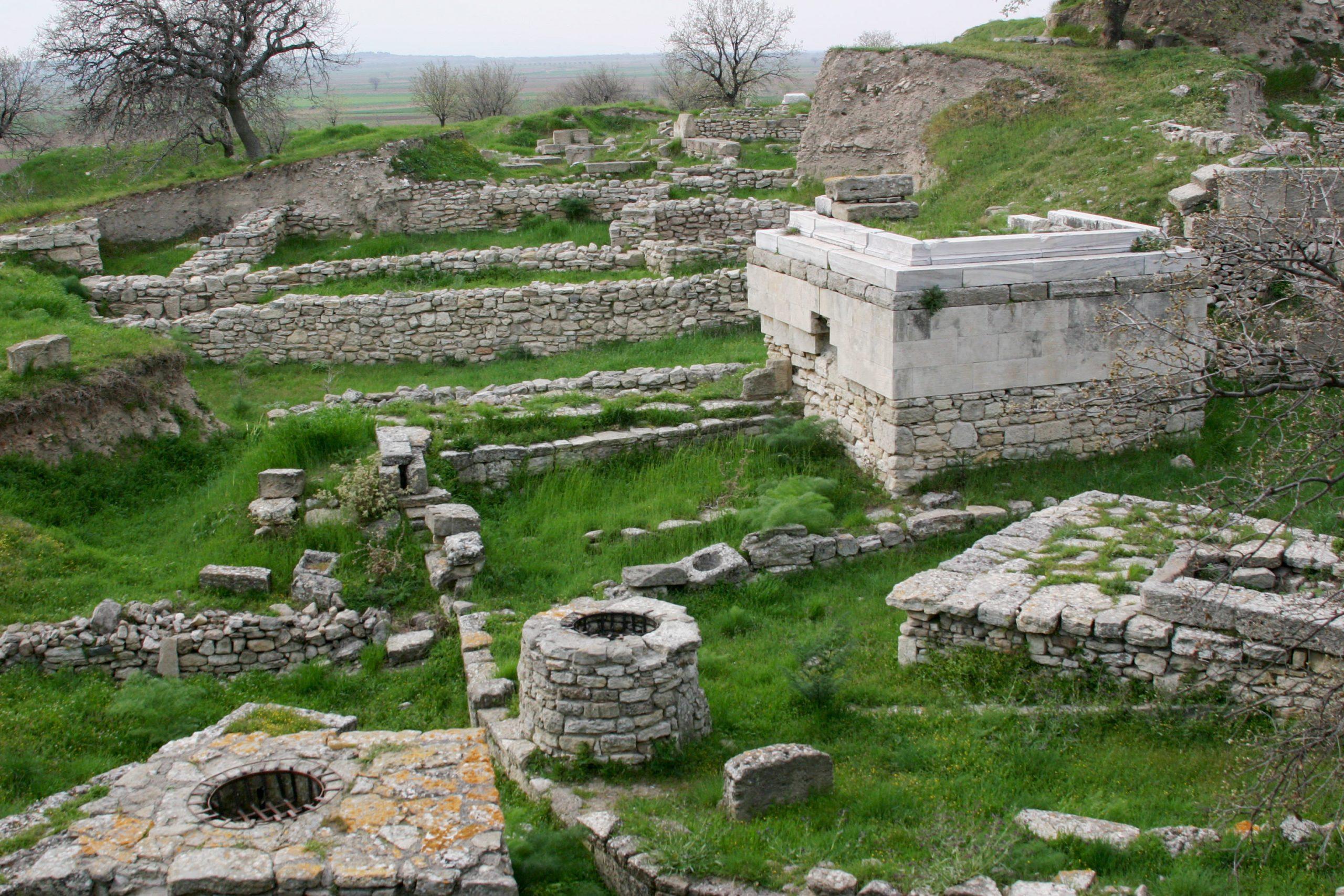 Troia - situl arheologic
