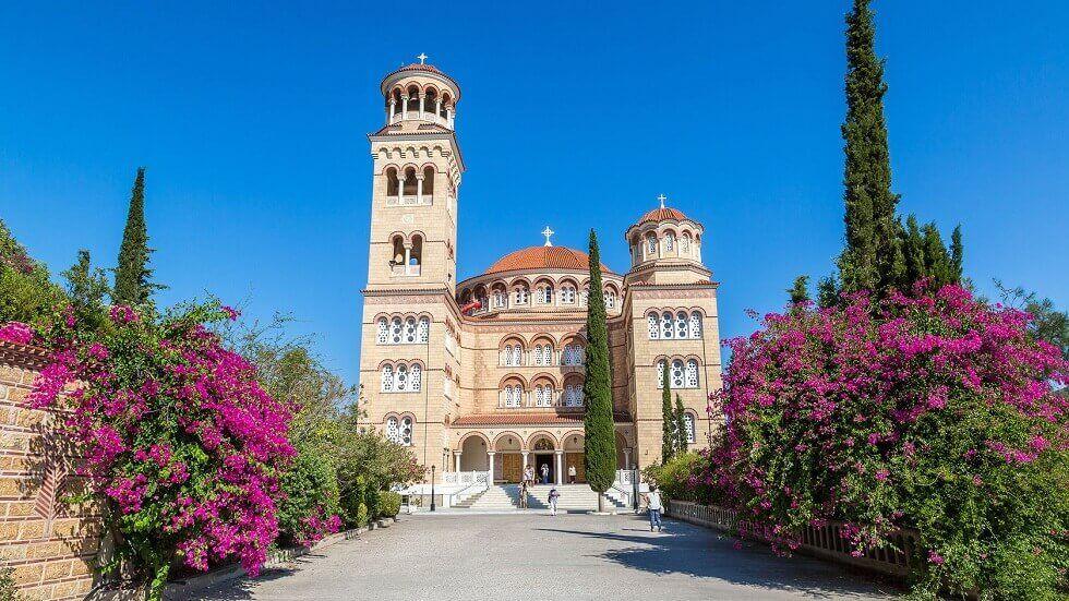 Manastirea Sf Nectarie - Egina