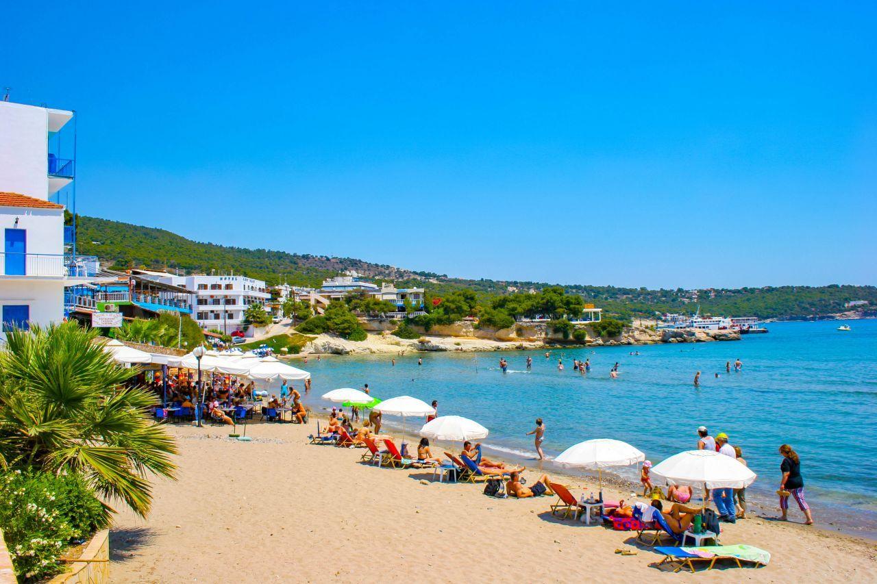 Plaja Souvala. insula Aegina - Grecia