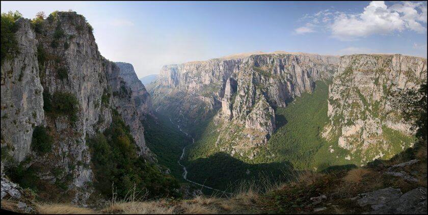 Cheile Vikos - Zagoria, Grecia