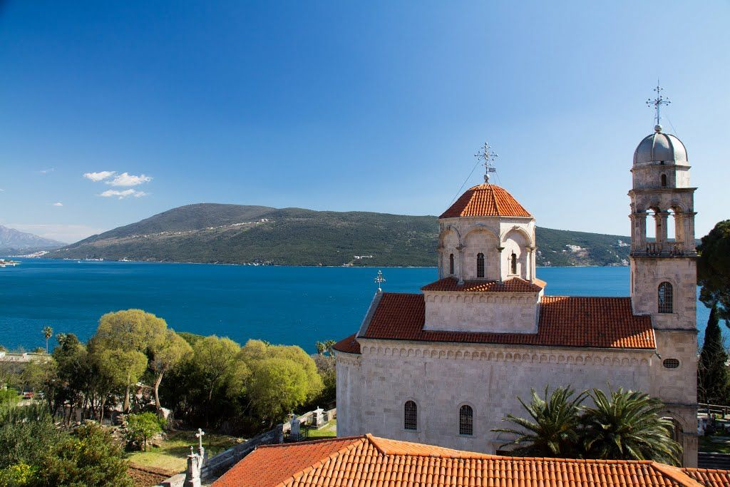 Manastirea Savina - Herceg Novi, Muntenegru