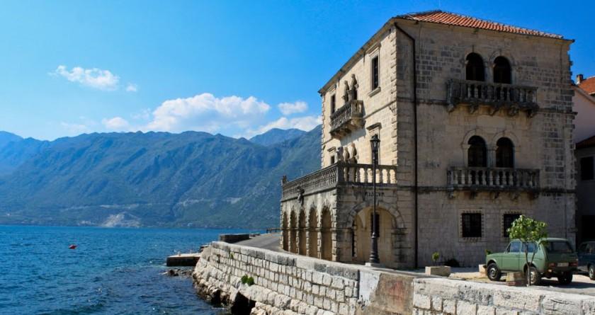 Palatul Bujovic - Perast, Muntenegru