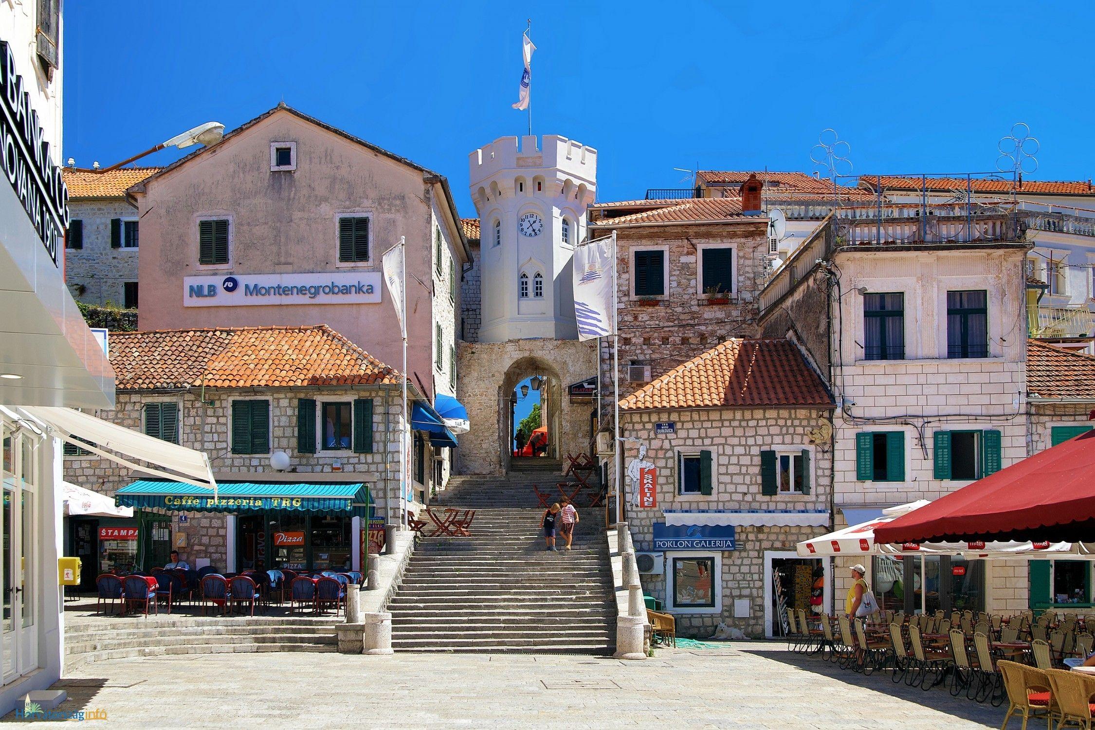 Turnul cu Ceas (Sahat Kula) - Herceg Novi
