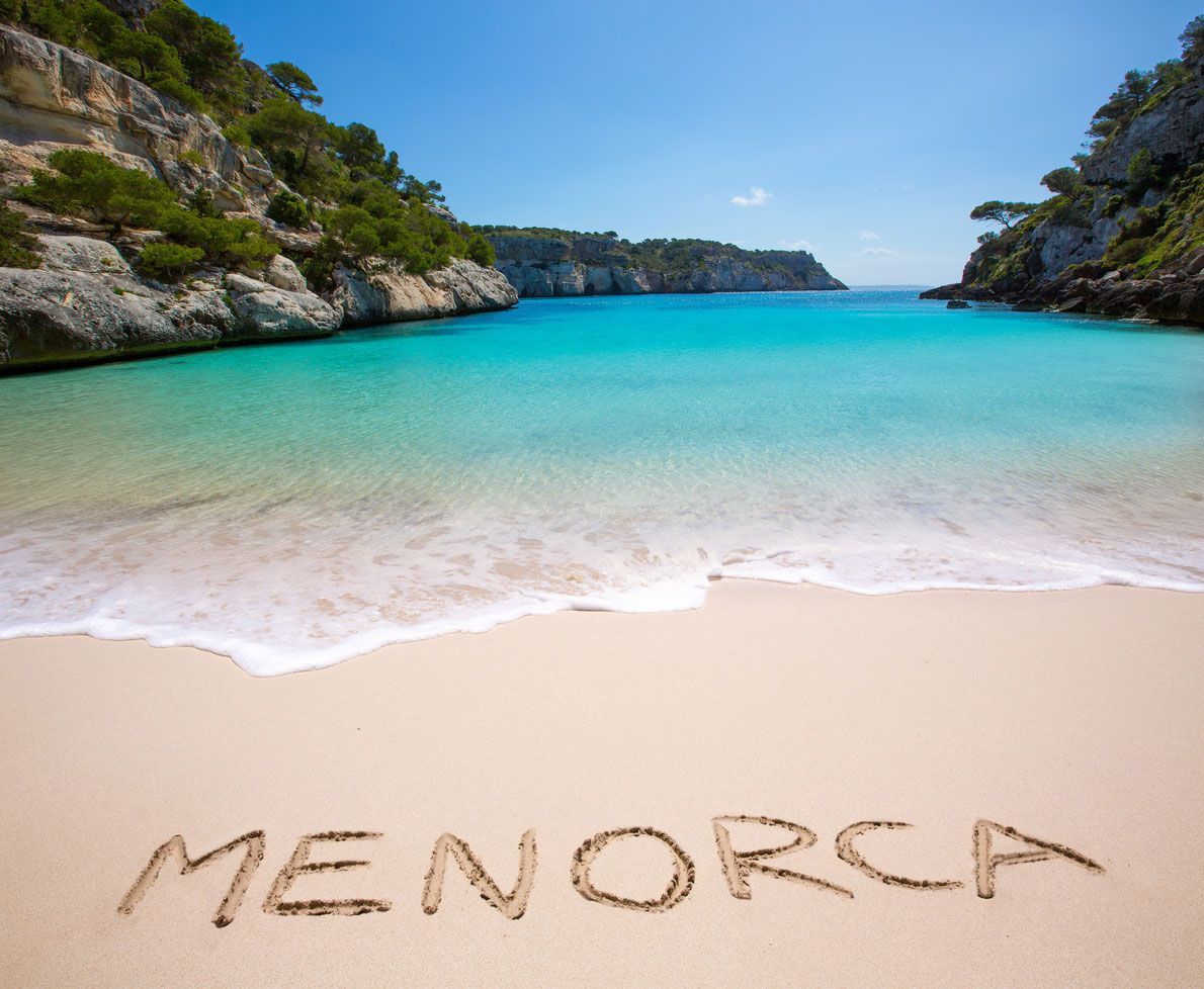Macarelleta Beach - Menorca, Spania
