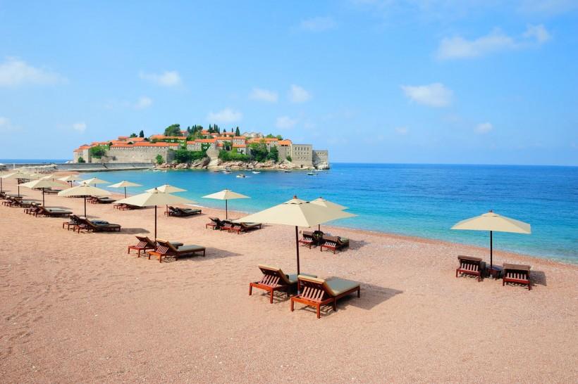Plaja Sveti Stefan - Muntenegru