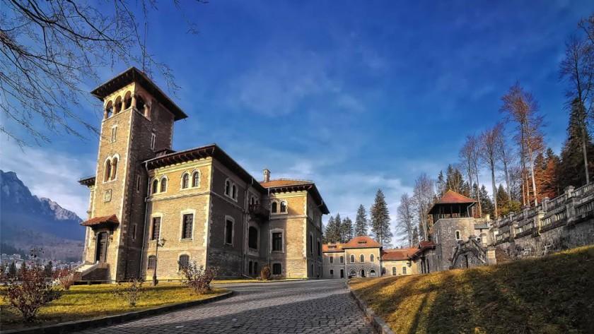 Castelul Cantacuzino - Busteni