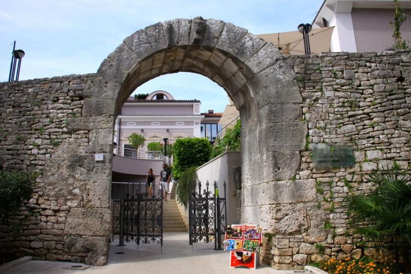 Poarta lui Hercule - Pula, Croatia