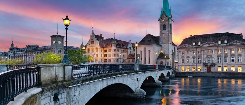 Basilica Fraumunster - Zurich