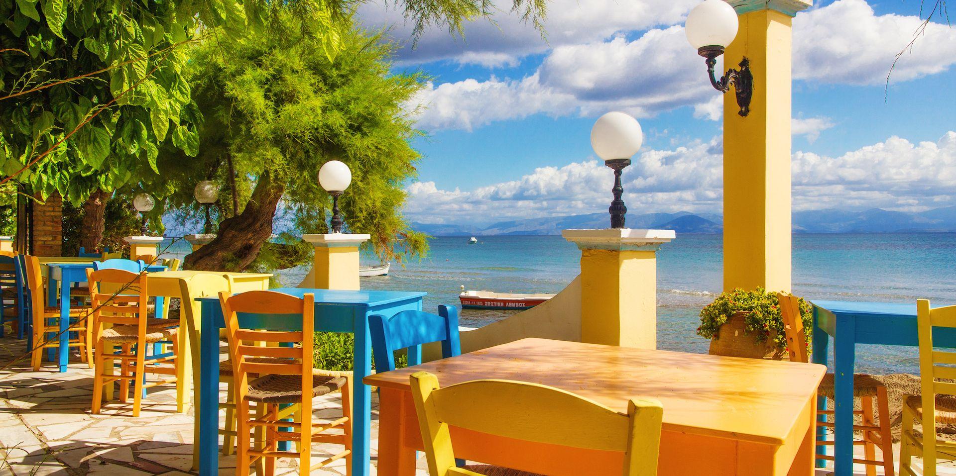 Roussos Restaurant - Kavos, Corfu