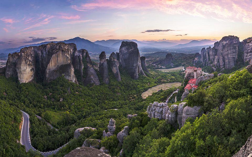 Stancile Meteora - Grecia