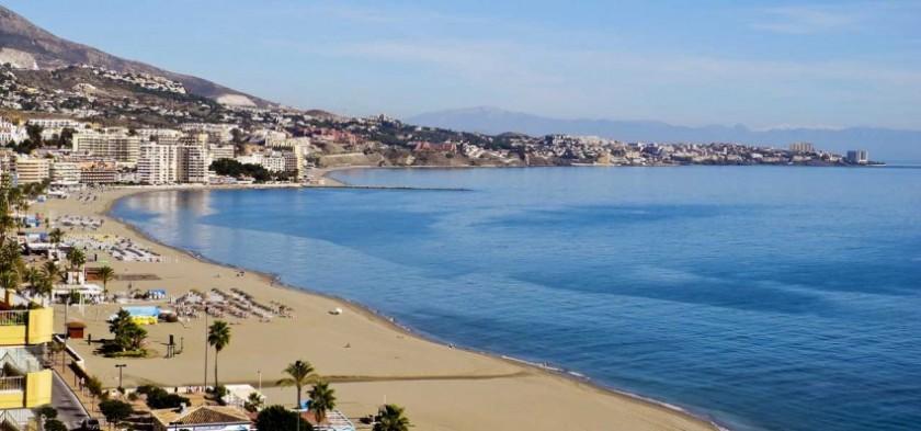 Plaja in Fuengirola - Spania
