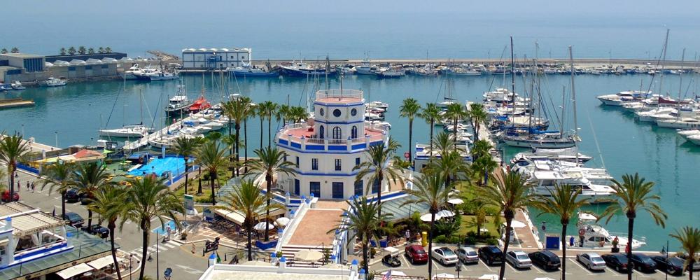 Portul din Estepona - Spania
