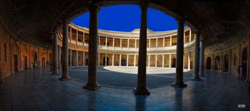 Palacio de Carlos Quinto - Granada