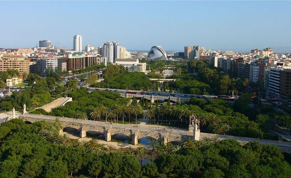 Parcul Turia - Valencia