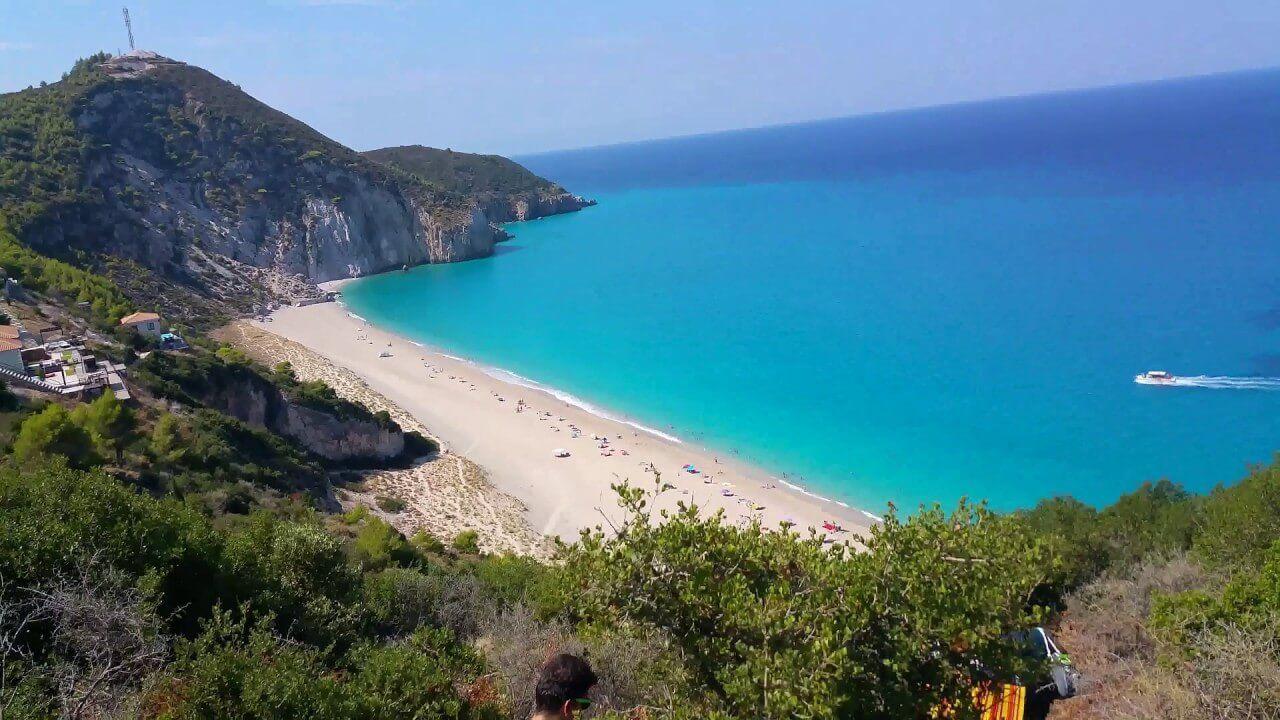 Plaja Mylos - Lefkada, Grecia