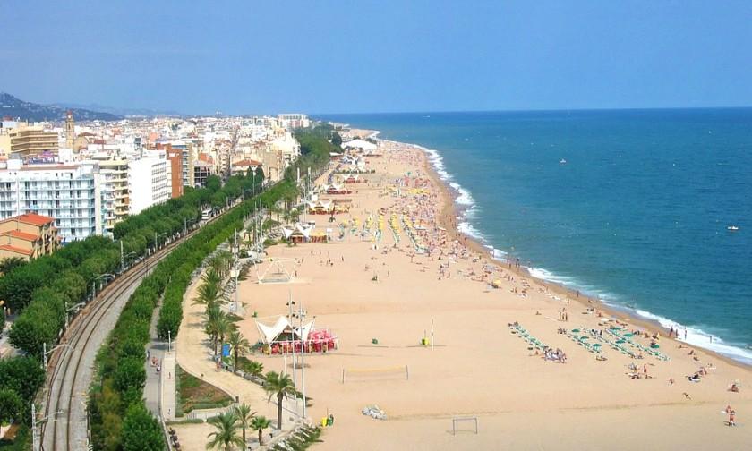 Plaja din Callela - Spania