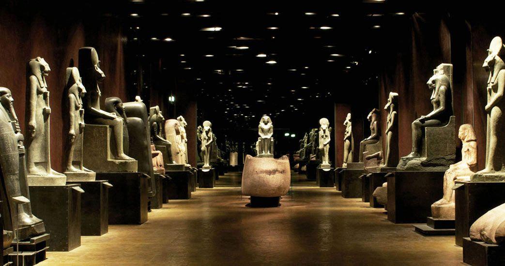 Muzeul Egizio din Torino - interior