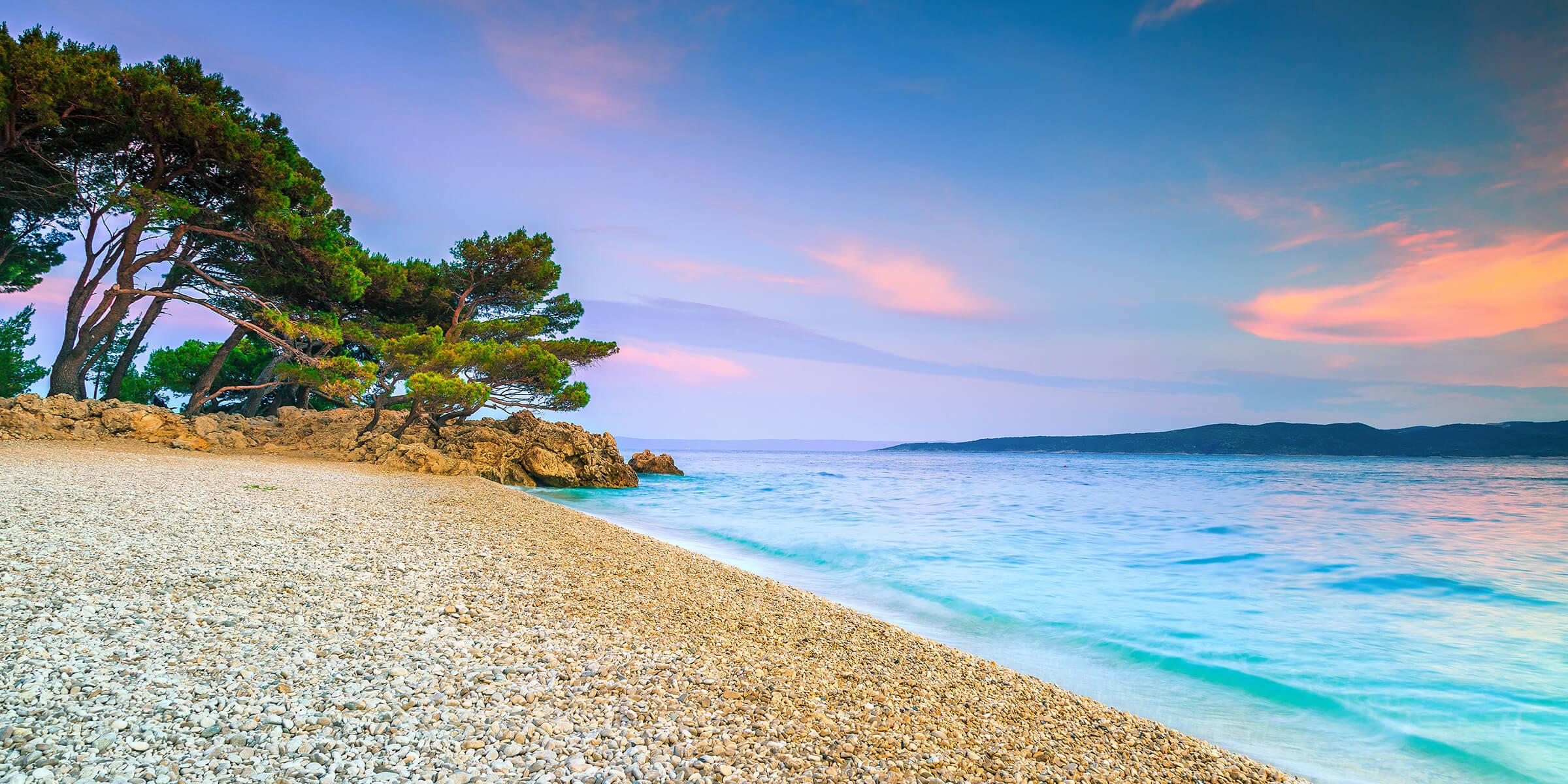 Plaja in Brela