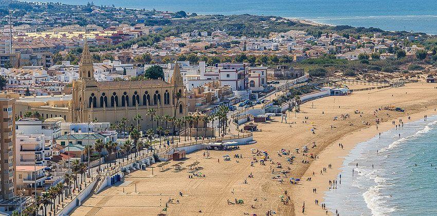 Playa La Victoria - Cadiz