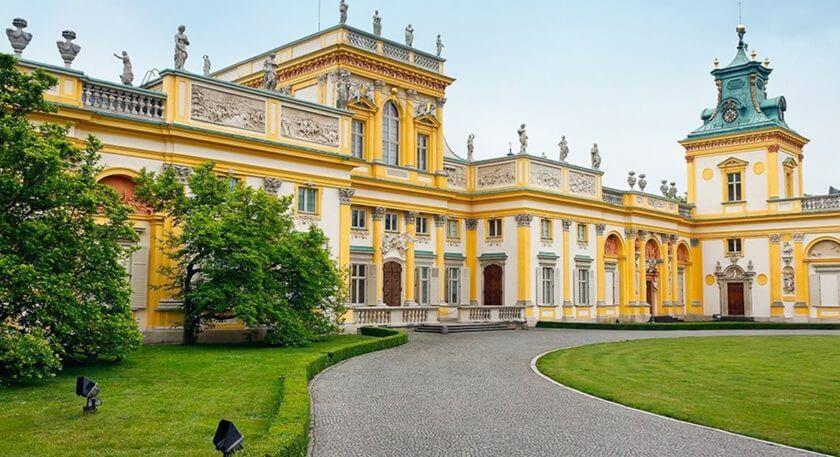 Wilanów Palace - Varsovia