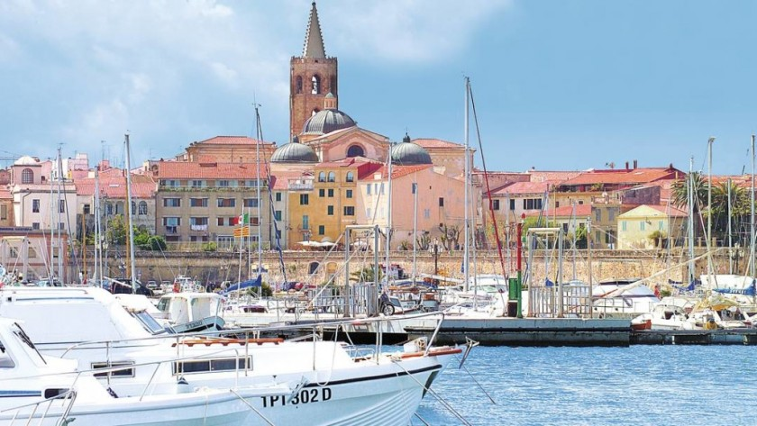Alghero, Sardinia - portul