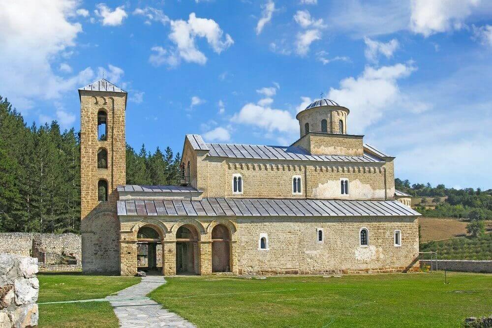 Manastirea Sopocani - Serbia