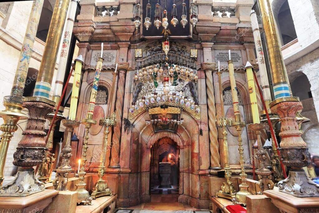 Biserica Sfantului Mormant - interior