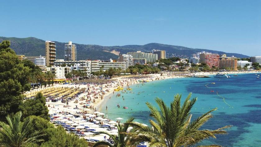 Plaja in Magaluf - Mallorca