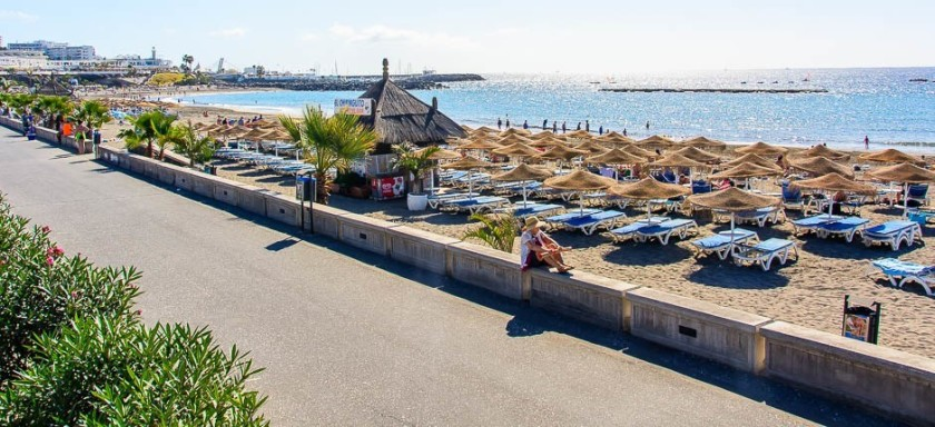 Playa Fanabe - Costa Adeje, Tenerife