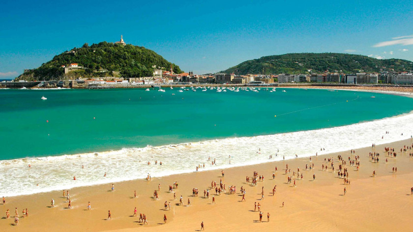 Playa de la Concha - San Sebastian