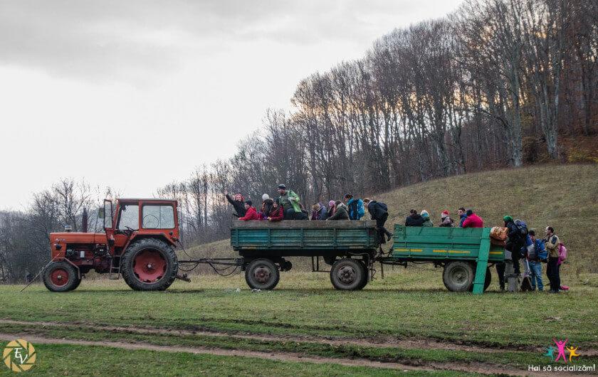 "Cheile Varghisului - Grupul ""Hai Sa Socializam"" parcurgand ultimii 11 km pana la Cheile Varghisului"