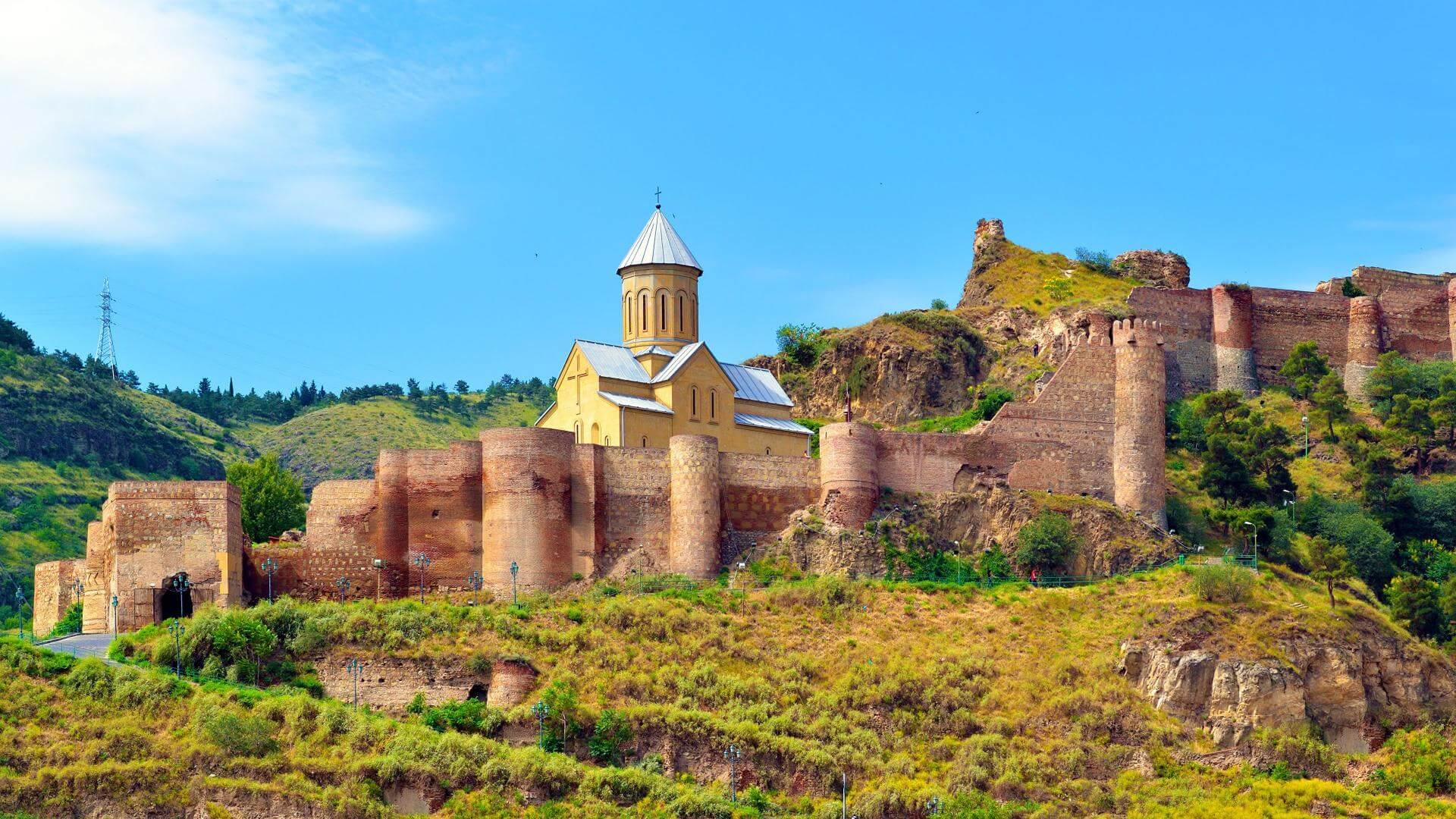Cetatea Narikala - Tbilisi