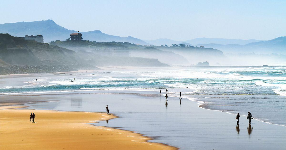 Plage de la Cote des Basques - Biarritz