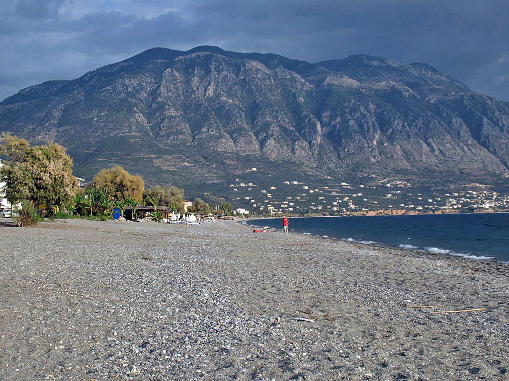 Plaja in Kalamata