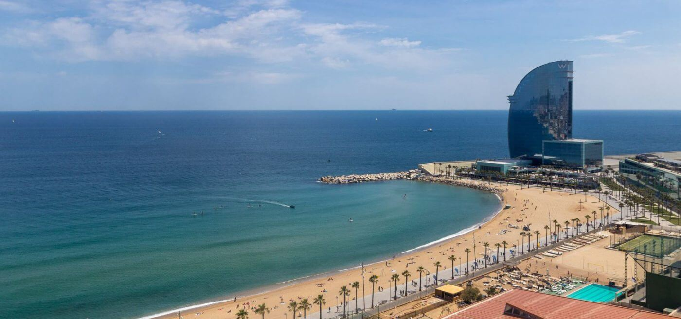 Plaja Barceloneta - Barcelona