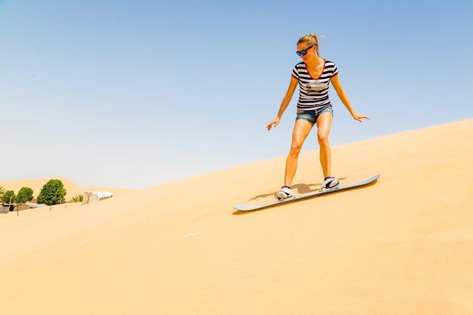 Ski pe dune - Dubai