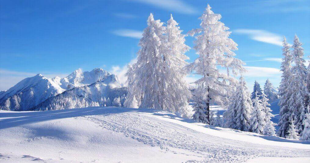 Peisaj de iarna in Maramures