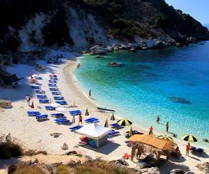 Plaja Agiofili - insula Lefkada