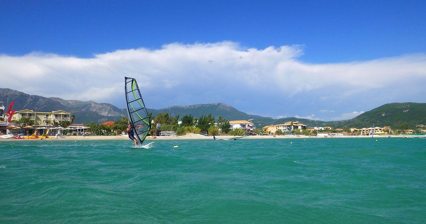 Windsurfing in Vasiliki - Lefkada
