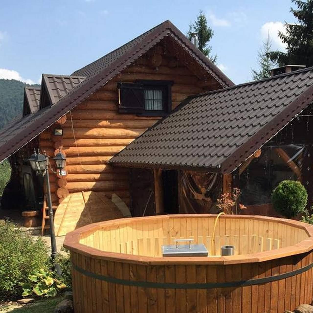 Ciubar din lemn pentru baie de la Rustic World