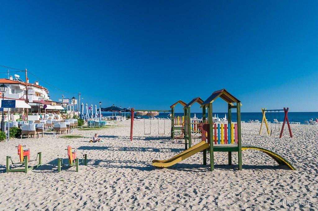 Plaja in Nea Skioni - Kassandra, Halkidiki