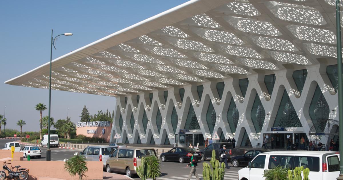 Aeroportul Menara - Marrakech, Maroc