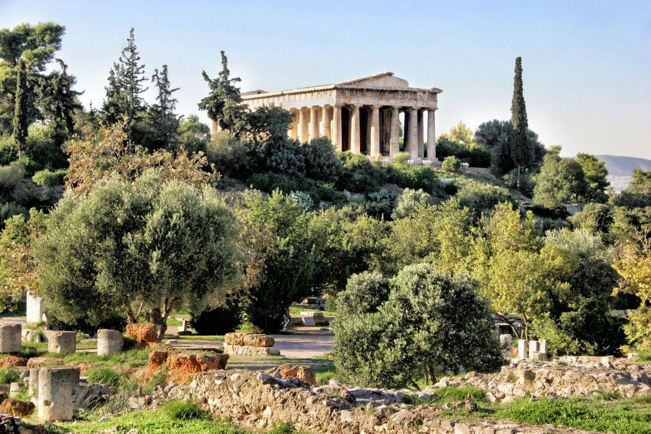Agora antica - Atena