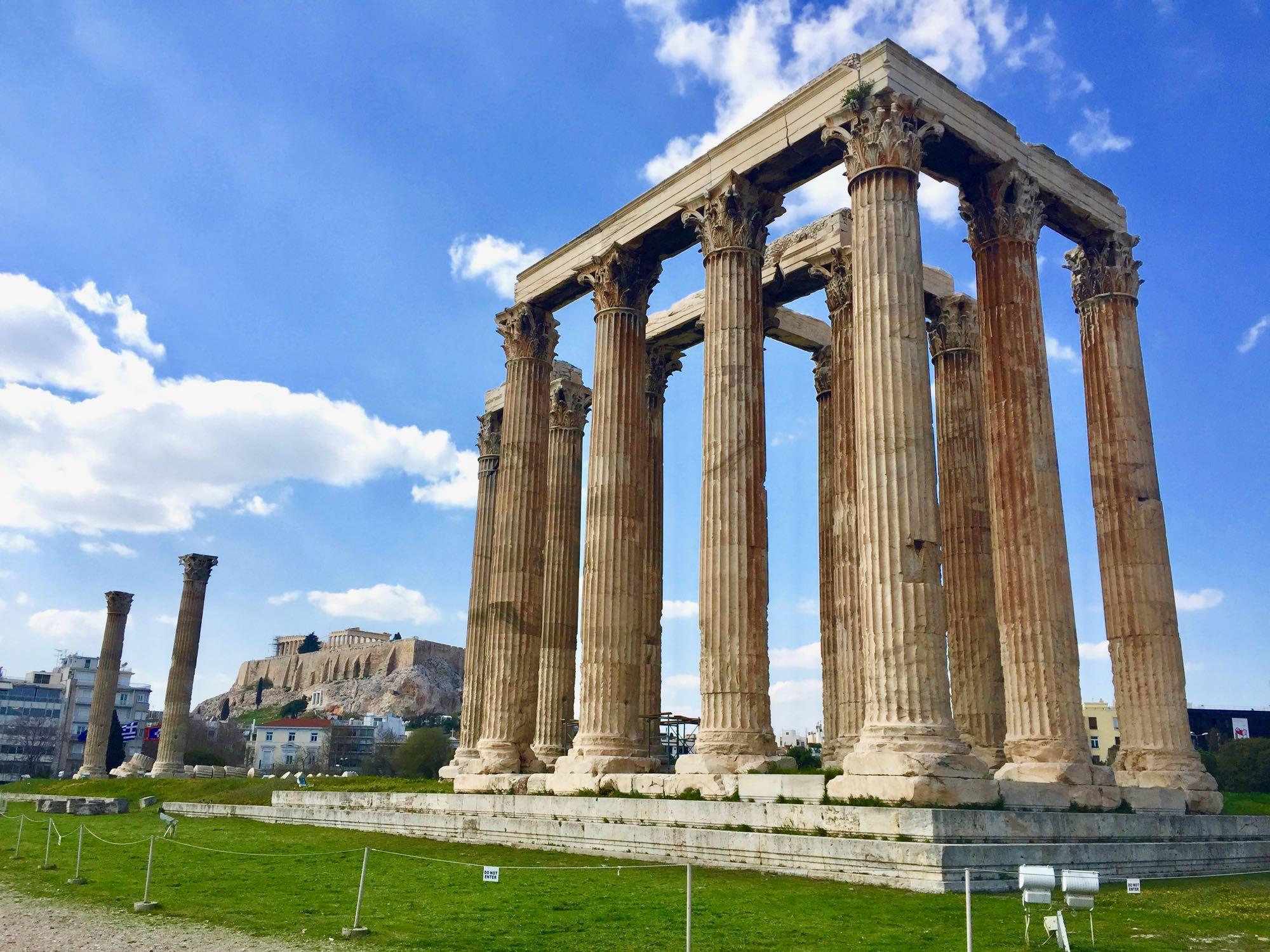Atena - Templul lui Zeus