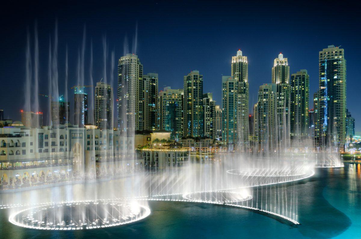 Fantanile arteziene - Dubai