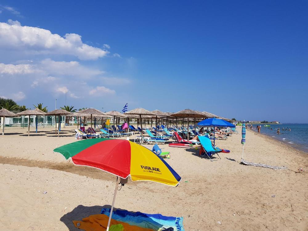 Plaja in Flogita - Grecia
