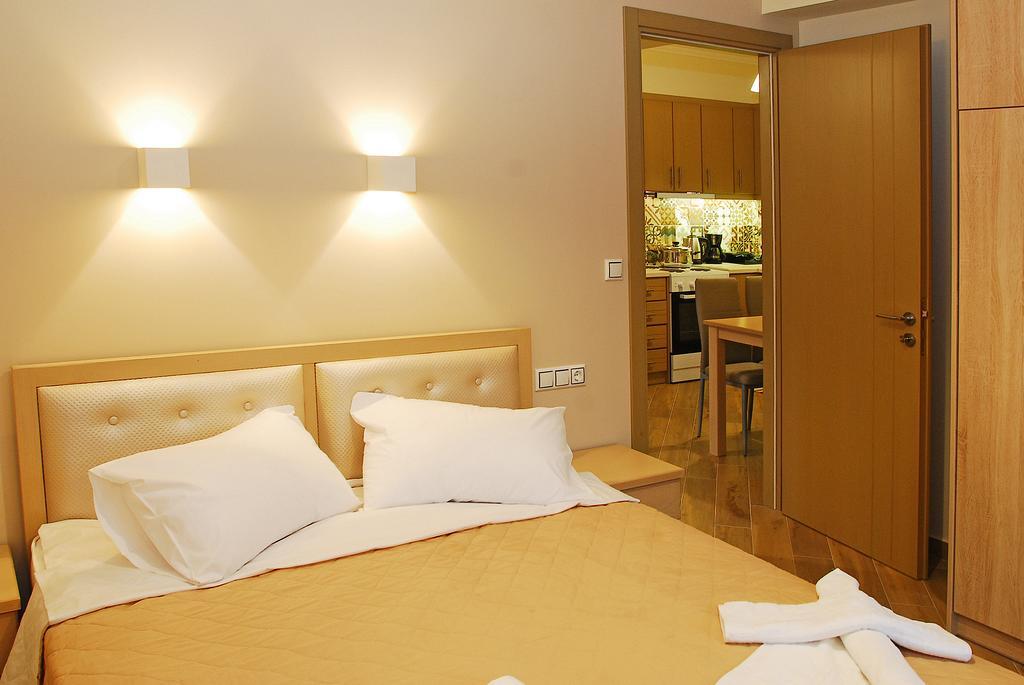 Kavadias Apartments - dormitor