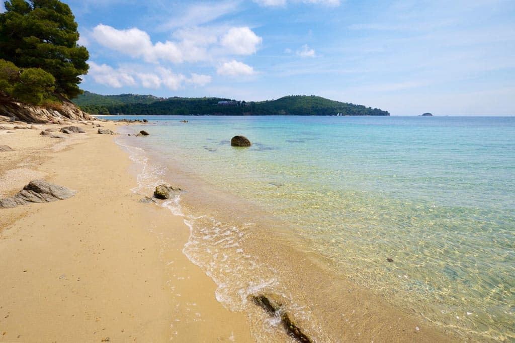 Plaja Ambelakia - insula Skiathos