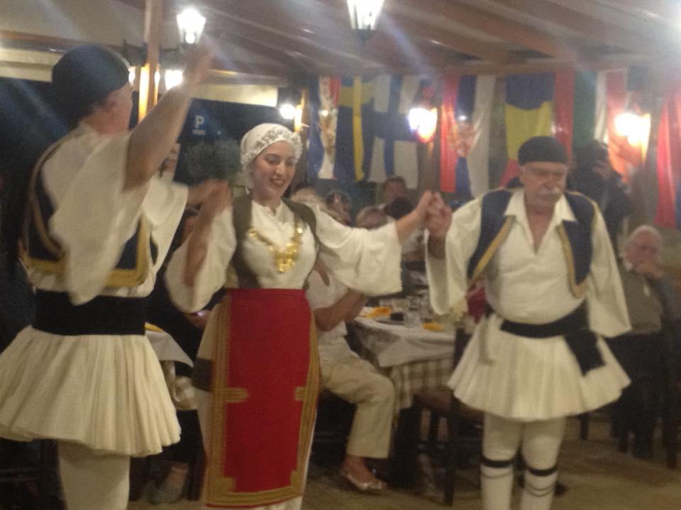 Seara greceasca - Taverna Symposio